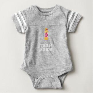 Team Bride Beerbottle Z5s42 Baby Bodysuit