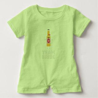 Team Bride Beerbottle Z5s42 Baby Romper
