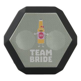 Team Bride Beerbottle Z5s42 Black Bluetooth Speaker