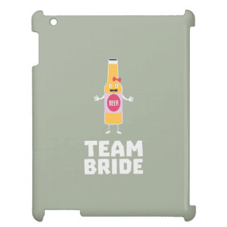 Team Bride Beerbottle Z5s42 Case For The iPad 2 3 4