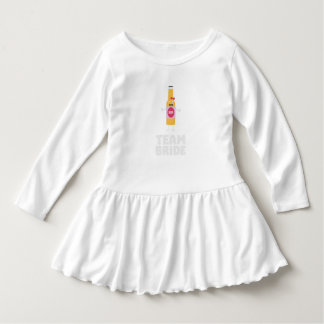 Team Bride Beerbottle Z5s42 Dress