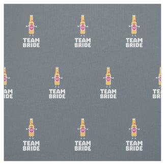 Team Bride Beerbottle Z5s42 Fabric