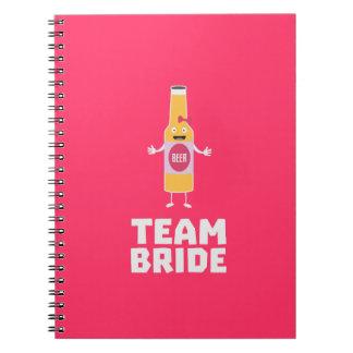 Team Bride Beerbottle Z5s42 Notebook