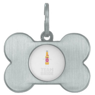 Team Bride Beerbottle Z5s42 Pet ID Tag