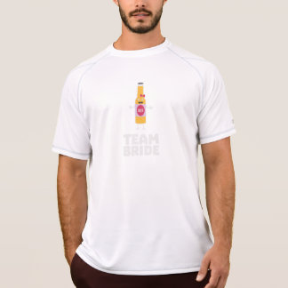 Team Bride Beerbottle Z5s42 T-Shirt