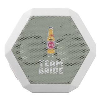Team Bride Beerbottle Z5s42 White Bluetooth Speaker