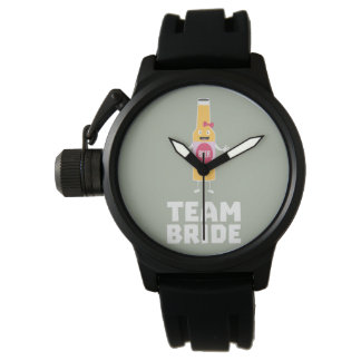 Team Bride Beerbottle Z5s42 Wristwatch