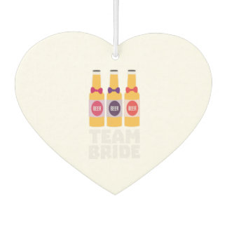Team Bride Beerbottles Z26ll Air Freshener