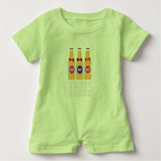 Team Bride Beerbottles Z26ll Baby Romper