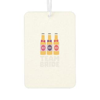 Team Bride Beerbottles Z26ll Car Air Freshener
