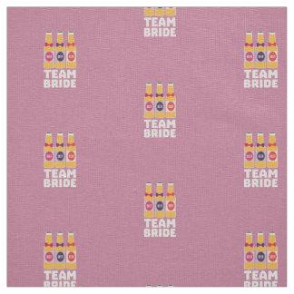 Team Bride Beerbottles Z26ll Fabric