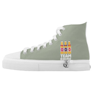 Team Bride Beerbottles Z26ll High Tops