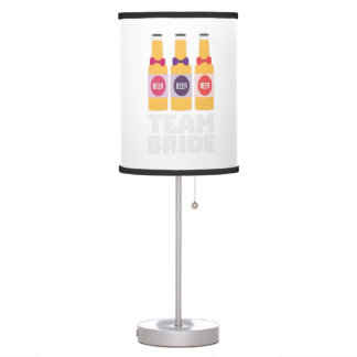 Team Bride Beerbottles Z26ll Table Lamp