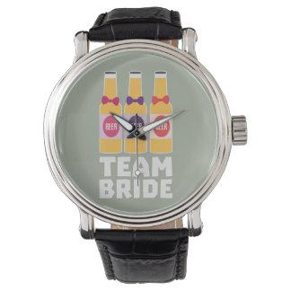 Team Bride Beerbottles Z26ll Wristwatch