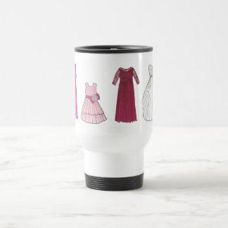 Team Bride Bridal Party Gowns Wedding Date Shower Travel Mug