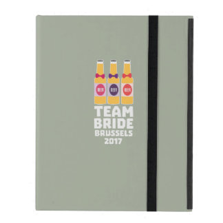 Team Bride Brussels 2017 Zfo9l iPad Case