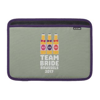 Team Bride Brussels 2017 Zfo9l MacBook Sleeve