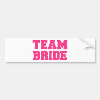 Team Bride Bumper Sticker