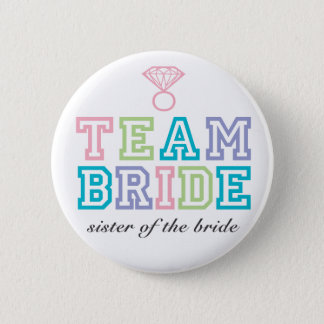 Team Bride Button