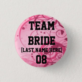 Team Bride Buttons