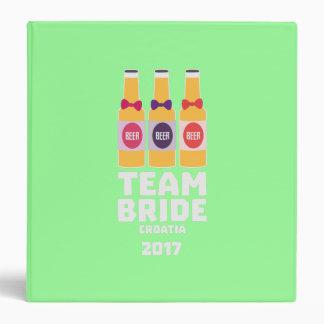 Team Bride Croatia 2017 Z6na2 3 Ring Binder