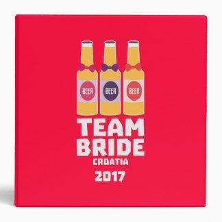 Team Bride Croatia 2017 Z6na2 3 Ring Binders
