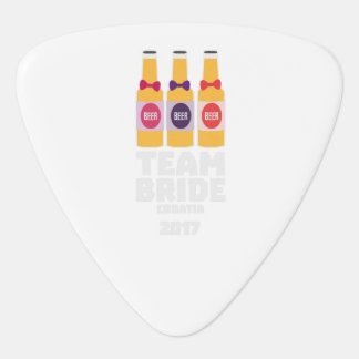 Team Bride Croatia 2017 Z6na2 Guitar Pick