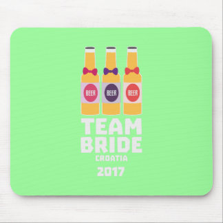 Team Bride Croatia 2017 Z6na2 Mouse Pad