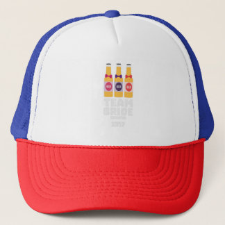 Team Bride Croatia 2017 Z6na2 Trucker Hat