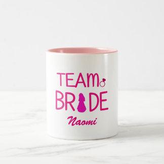 Team Bride - Custom Bridesmaid Mugs