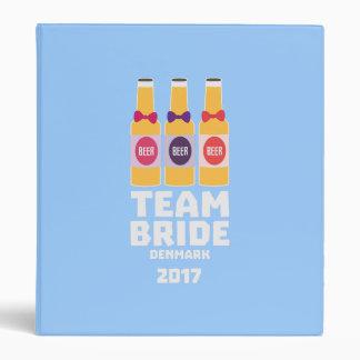 Team Bride Denmark 2017 Zni44 3 Ring Binder