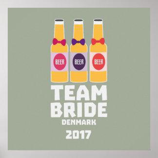 Team Bride Denmark 2017 Zni44 Poster