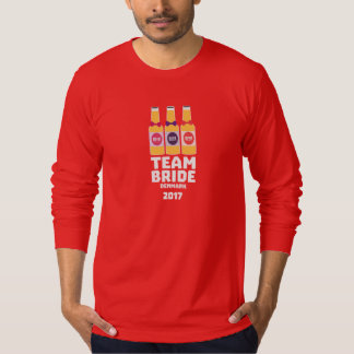 Team Bride Denmark 2017 Zni44 T-Shirt