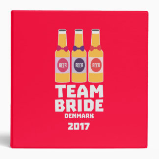 Team Bride Denmark 2017 Zni44 Vinyl Binders