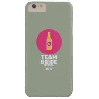 Team bride Edinburgh 2017 Henparty Z513r Barely There iPhone 6 Plus Case