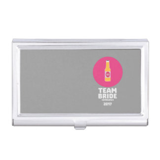 Team bride Edinburgh 2017 Henparty Z513r Business Card Holder