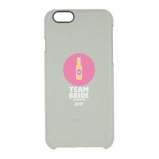 Team bride Edinburgh 2017 Henparty Z513r Clear iPhone 6/6S Case