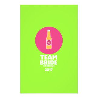 Team bride Edinburgh 2017 Henparty Z513r Flyer