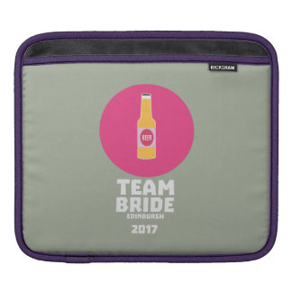 Team bride Edinburgh 2017 Henparty Z513r iPad Sleeve