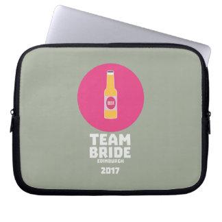 Team bride Edinburgh 2017 Henparty Z513r Laptop Sleeve