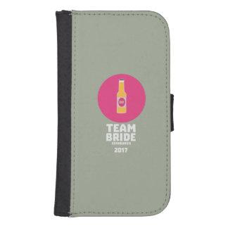 Team bride Edinburgh 2017 Henparty Z513r Samsung S4 Wallet Case
