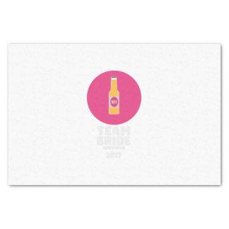 Team bride Edinburgh 2017 Henparty Z513r Tissue Paper