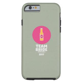 Team bride Edinburgh 2017 Henparty Z513r Tough iPhone 6 Case