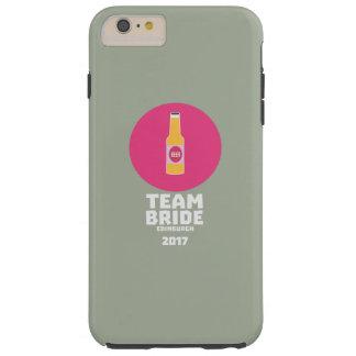 Team bride Edinburgh 2017 Henparty Z513r Tough iPhone 6 Plus Case