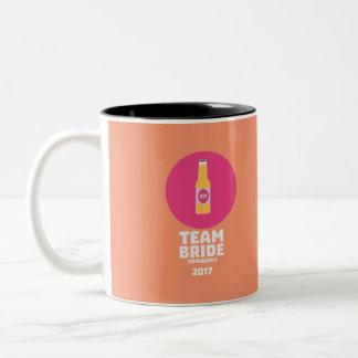 Team bride Edinburgh 2017 Henparty Z513r Two-Tone Coffee Mug