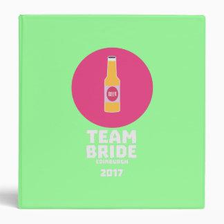 Team bride Edinburgh 2017 Henparty Z513r Vinyl Binders