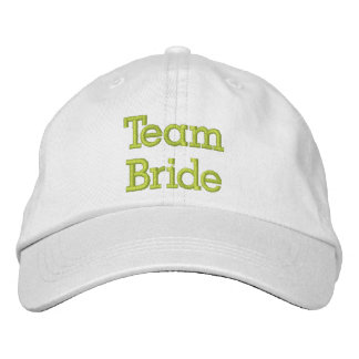 Team Bride Embroidered Hat