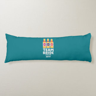 Team Bride Finland 2017 Zk36v Body Pillow