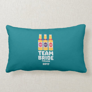 Team Bride Finland 2017 Zk36v Lumbar Pillow
