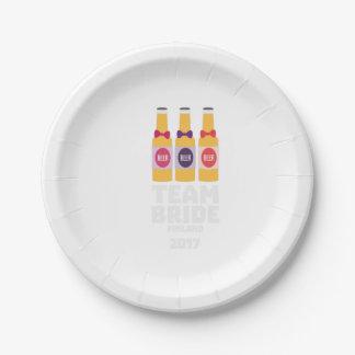 Team Bride Finland 2017 Zk36v Paper Plate